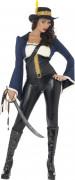 Costume comandante pirata donna