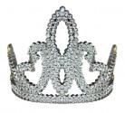 Diadema principessa argentato