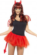 Kit demone donna Halloween