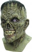 Maschera creatura Frankenstein Zombie adulto Halloween