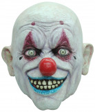 Maschera clown calvo adulto