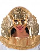 Mezza maschera dorata regina egiziana