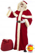 Costume babbo natale lusso adulto - Premium