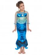 Costume da sirena in turchese per bambina