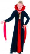 Costume vampiro con colletto per bambina