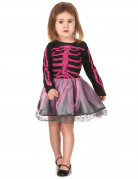 Costume scheletro bambina