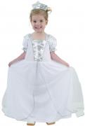 Costume principessa bianco bambina