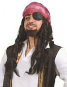 Parrucca pirata con capelli intrecciati uomo