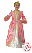 Costume principessa rosa bambina deluxe