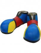 Scarpe da clown blu