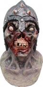 Maschera integrale da cavaliere zombie Halloween