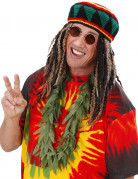 Collana di foglie di cannabis finte
