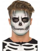 Kit trucco da scheletro fosforescente Halloween