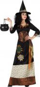 Costume strega dei boschi donna Halloween