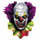 Decorazione cut out horror clown per Halloween
