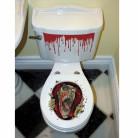 Decorazione autoadesiva per wc