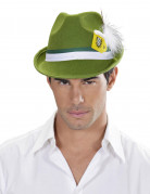 Cappello bavarese verde adulto
