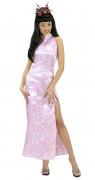 Costume rosa sexy da donna orientale