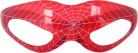 Occhiali luminosi rossi tela di ragno