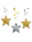 3 decoarazioni da appendere stelle