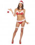 Costume bikini Mamma Natale adulto