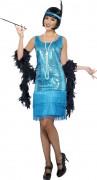 Costume cabaret donna blu