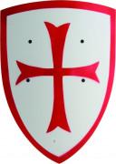 Scudo bianco con croce rossa bambino