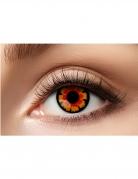 Lenti a contatto fantasia rosse e nere