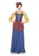 Costume medievale cameriera della taverna