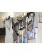 Decorazione di Halloween: lenzuolo con pipistrelli