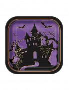 10 piatti quadrati notti di Halloween