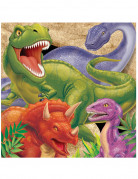 16 tovaglioli carta Dinosauro