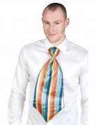 Cravatta gigante clown adulto