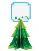 4 Segnaposto albero Natale