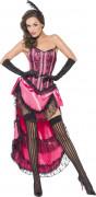 Costume ballerina di cabaret rosa adulto