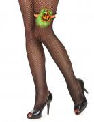 Accessorio Halloween: giarrettiera zucca adulto