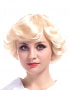 Parrucca bionda corta vintage per donna