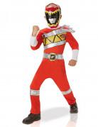 Costume classico Power rangers rosso Dino Charge™ bambino
