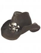 Cappello da cowboy con teschio
