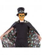 Mantello double face Giorno dei Morti Halloween adulto