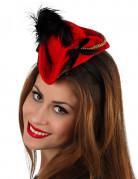Cerchietto mini-cappello piratessa