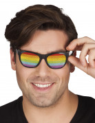 Occhiali arcobaleno adulto