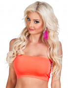 Fascia elastica arancione fluo donna