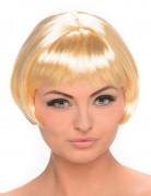 Parrucca caschetto bionda donna