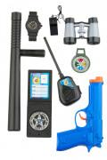 Kit accessori per poliziotto bambino