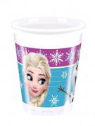 8 bicchieri di plastica La regina delle nevi™