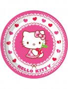 8 Piattini di carta Hello Kitty™