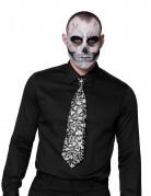 Cravatta teschi adulto Halloween