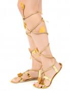 Sandali romani con cordoncino per donna