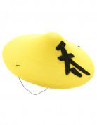 Cappello cinese giallo adulto